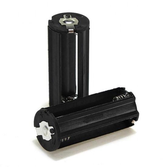 10st 3x AAA Adapter Plast Batteri Hållare Etui Box 2021