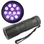 12 LED BlackLight Ultra Violet UV Flashlight Torch Lamp Flashlight