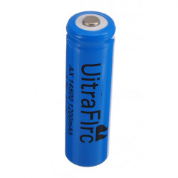 14500 1200mAh 3.7V ICR Li-ion Lithium Genopladeligt Batteri