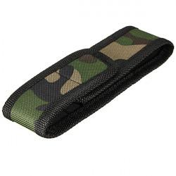 16cm X 26cm Camouflage LED Ficklampa Nylon Bag Holder