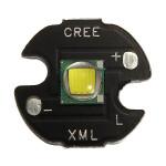 16mm Cree XM-L T6 885LM LED Emitter 6000K Hvid Lys (3,0 ~ 3.5V) Lommelygter