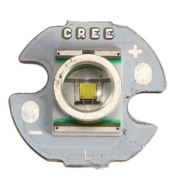 16mm Cree XRE-Q5 235LM 6300K LED Vit Light Emitter (3.2V / 1000mA) Ficklampor