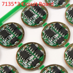 17MM 7135*3 3Modes 1050mAh Circuit Board for Q5 R2 R5