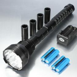 18000LM Ultra 15x CREE XM L T6 super helle LED Taschenlampe Suit