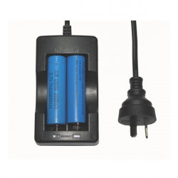 18650 3.7v Li-ion Rechargeable Battery AU Plug Travel Charger