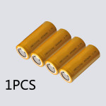 1PCS 26650 4000mAh 3.7V Rechargeable Lithium Battery Golden Flashlight