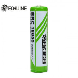 1PCS EACHINE 2200mAh 3.7V 18650 Protected Rechargeable Battery