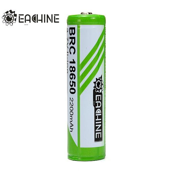1PCS EACHINE 2200mAh 3.7V 18650 Protected Rechargeable Battery Flashlight