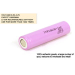 1PCS ICR18650-26F 2600LM Rechargeable Li-ion Battery Flashlight