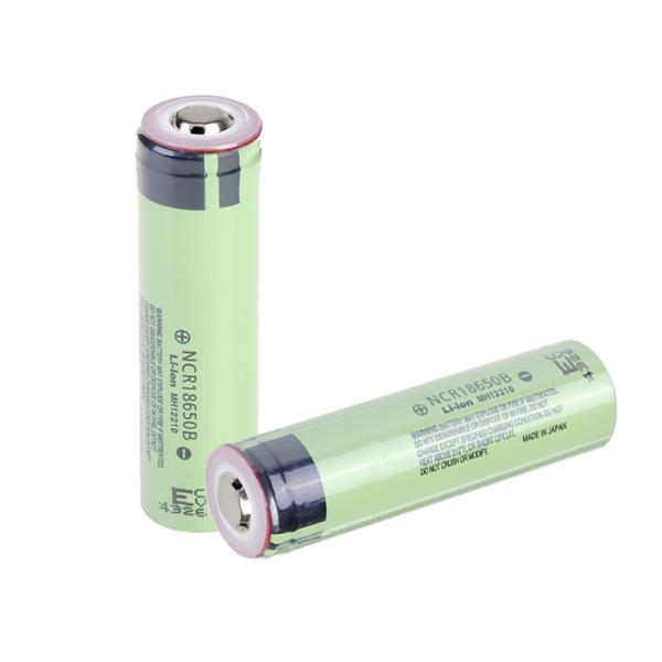 1PCS NCR18650B 3400mAh 3.7V Uppladdningsbart Li-ion Batteri Ficklampor