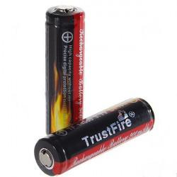 1PCS Trust 14500 900mAh 3.7V Li-ion Laddningsbart Batteri