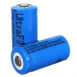 1PCS Ultra 3.7v 1000mAh CR123A / 16340 Reachargeable Batteri