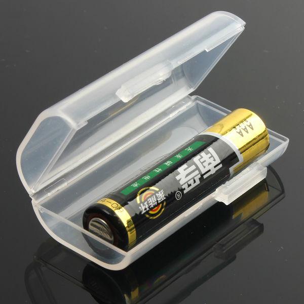 1st Li-ion Batteri Plast Vit Box iPad 2x10440 AAA Ficklampor