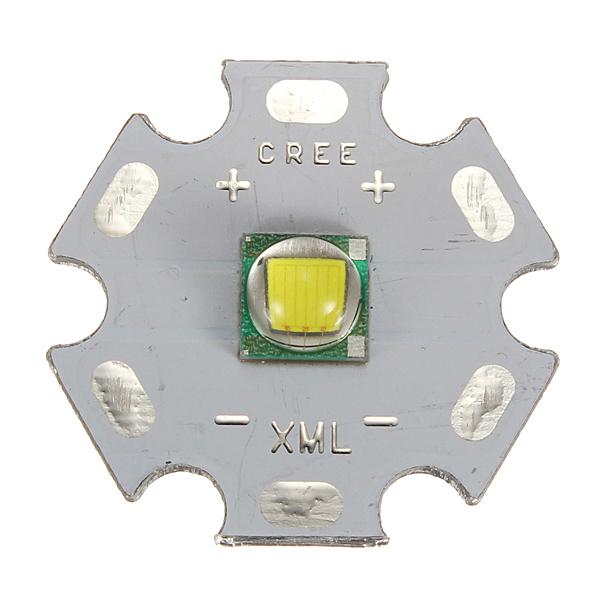 20mm CREE XML-T6 900-Lumen 6700K White Light Emitter(3.0~3.5V) Flashlight