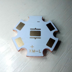 20mm Copper Base PCB Heat Sink For CREE XM-L XML-2 XHP50 XHP70