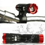 240lum Cree XPE Q5 LED Fahrradlampe vor Licht Fackel mit dem Berg Taschenlampe