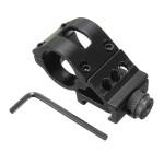 25mm Taschenlampe Zielfernrohr montieren Weaver 20mm Picatinny Schiene Taschenlampe