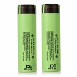 2PCS NCR 18650B 3400mAh 18650 3.7 V Lithium Uppladdningsbart Batteri Ficklampor