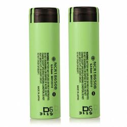 2stk NCR 18650B 3400mAH 18650 3.7 V Lithium Genopladeligt Batteri