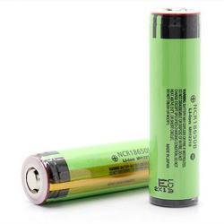 2ST NCR 18650B 3,7V 3400mAh geschützte Lithium Akku