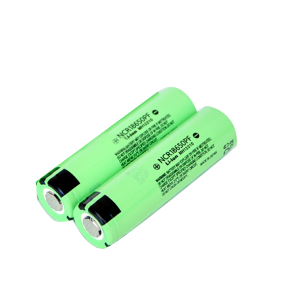 2PCS NCR 18650PF 3.7V 2900MAH Rechargeable Lithium Battery Flashlight