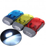 3 LED Dynamo Wind Up Hand-pressing Crank Flashlight Flashlight