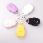 3 LED Weißlicht tragbare Laser Schlüsselanhänger Light Fünf Color Taschenlampe