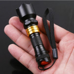 3W wasserdichte Mini LED Taschenlampe für Camping Outdoor AAA Taschenlampe
