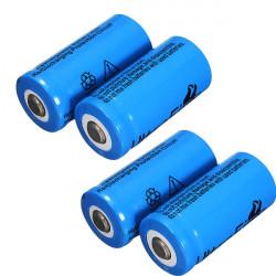 4stk Ultrafire 3.7V 1000mAh CR123A / 16340 Reachbatterie