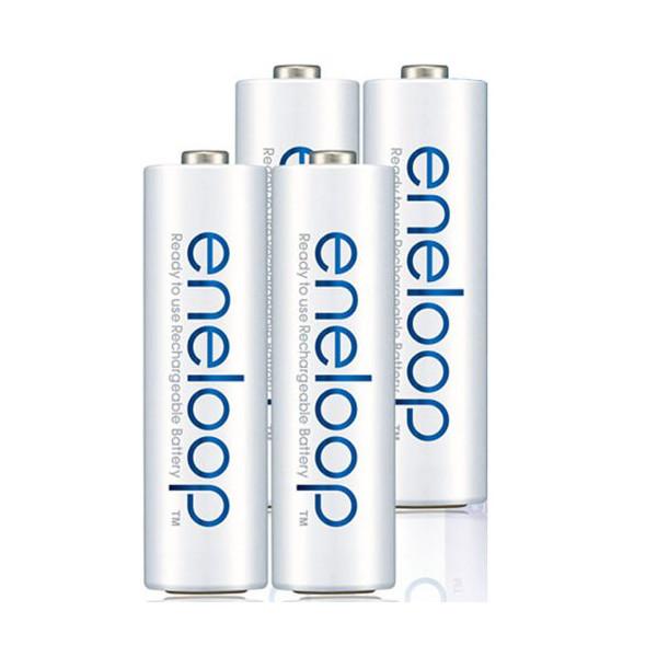 4st Eneloop BK-3HCCA / 4C AA 2000mAh Uppladdningsbart Batteri Ficklampor