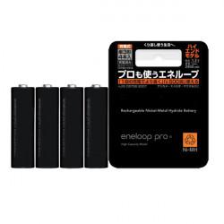 4st Eneloop Pro BK-3HCC AA 2550mAh Uppladdningsbara Batterier
