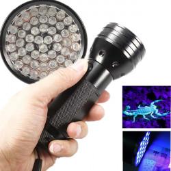 51 LED ultravioletter Schwarz Light LED Taschenlampe 3xAA