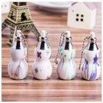 5 LED Calabash Cucurbit Portable Mini LED Keychain Gifts Flashlight