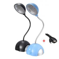 5V 15x LED Mini USB RDesk Lampe Tischlampe Schreibtischlampe