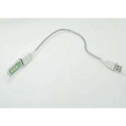 5v USB Computer Lampa Natt High Brightness LED-lampa med Slang