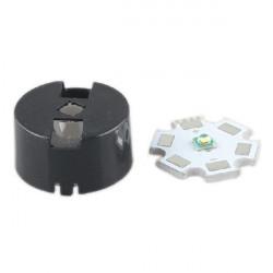 60 Grader CREE XRE / XRC LED Frosting Lens med Hållare