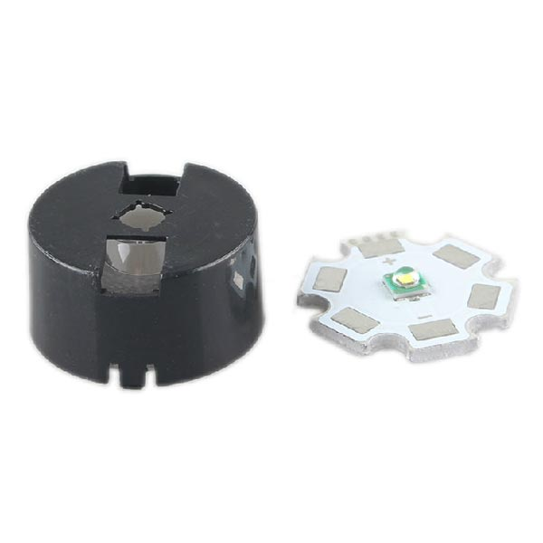 60 Grad CREE XRE / XRC LED Frosting Linse mit Halterung Taschenlampe