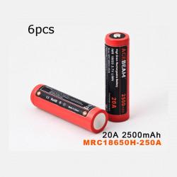6st AceBeam MRC18650H-250A LG 18650HE2 2500mAh Uppladdningsbart Batteri