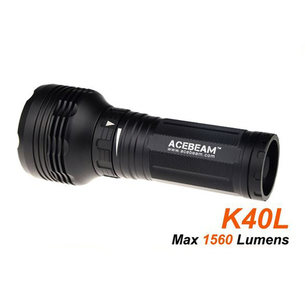 ACEBEAM K40L CREE XPL 1560LM Søg Rescue Vandtæt LED Lommelygte Lommelygter