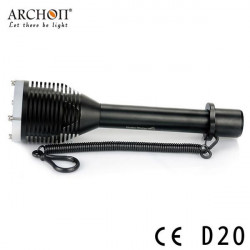 ARCHON D20 CREE XM-L T6 1000LM 100M Diving LED Flashlight