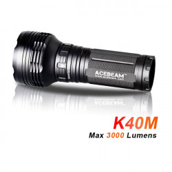 AceBeam K40M Cree MT-G2 Q0 3000lm 5000k LED Flashlight 3*18650