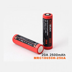 AceBeam MRC18650H-250A LG 18650HE2 20A 2500mAh Rechargeable Battery