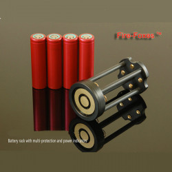 Battery Rack for Fire-Foxes FF3/FF4 HID Flashlight