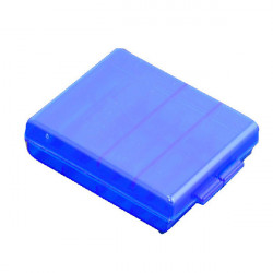 Battery Storage Case For AA AAA Battery Blue