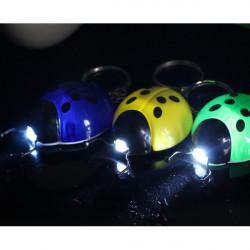 Beetle Schlüsselanhänger LED Licht Silikon Schlüsselanhänger
