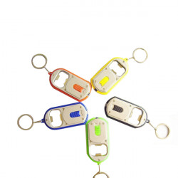 Bottle Opener Small Dual-use Flashlight Key Chain Hanging Buckle