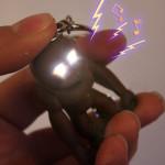 Bysun Sound Gorilla LED Keychain 360 Degree Rotation Flashlight