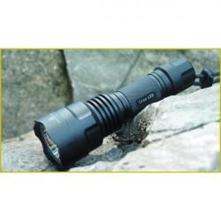 C8 Cree XM-L2 U2-1A / T6-3C SMO / OP 3-Mode LED Ficklampa 1x18650