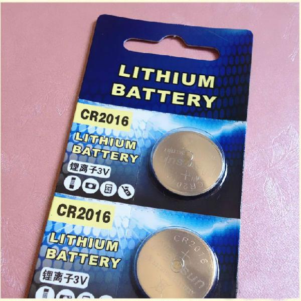 CR2016 3V Litiumbatteri Batteri för Leksaker Watch 5PCS Ficklampor
