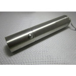 CREE Q5 3Modes Stainless Steel Mini LED Ficklampa 18650 Ficklampor